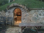 hobbit house, underground, stone, masonry, construction